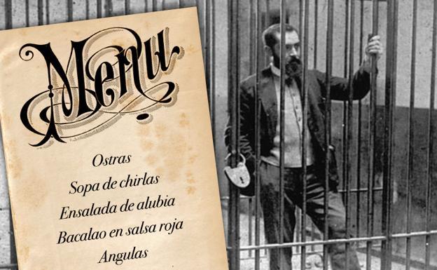El menú de Nochebuena de Sabino Arana en la cárcel: ostras, angulas y licores