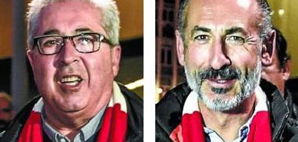 Uribe-Echevarría y Elizegi pugnan hoy por dirigir el Athletic