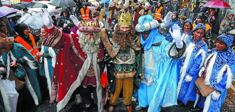 El plan de los Reyes Magos en Donostia