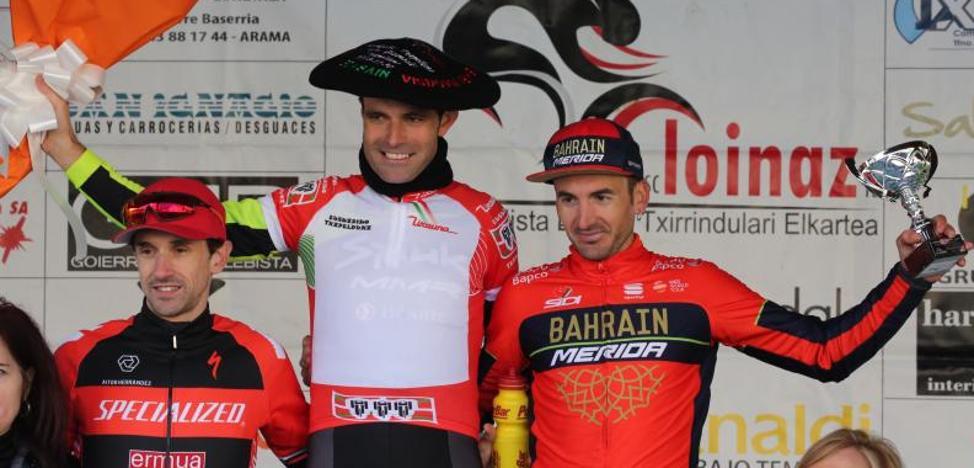 Larrinaga y Odriozola, campeones de Euskadi en Beasain