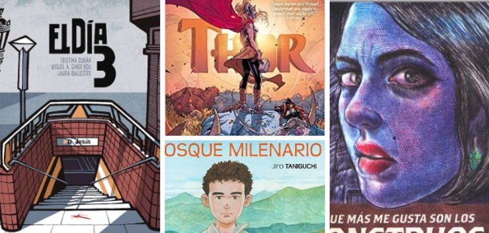 Una selección de cómic e ilustración publicada en España durante 2018