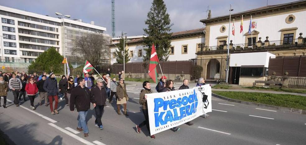 Sortu pide al Gobierno «que cumpla la ley» y permita la excarcelación de los presos de ETA