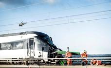 Aumentan a ocho los muertos en el accidente de tren en un puente en Dinamarca