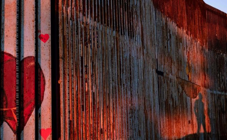Muro fronterizo de Tijuana