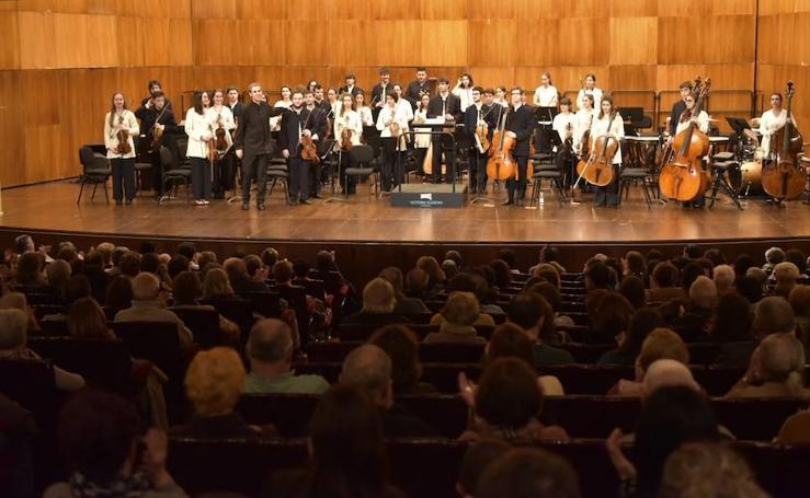 Éxito en Donostia de la Joven Orquesta de Euskal Herria