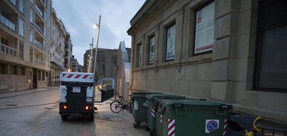 Condenada a 11 años la mujer que tiró a su bebé a un contenedor en Donostia