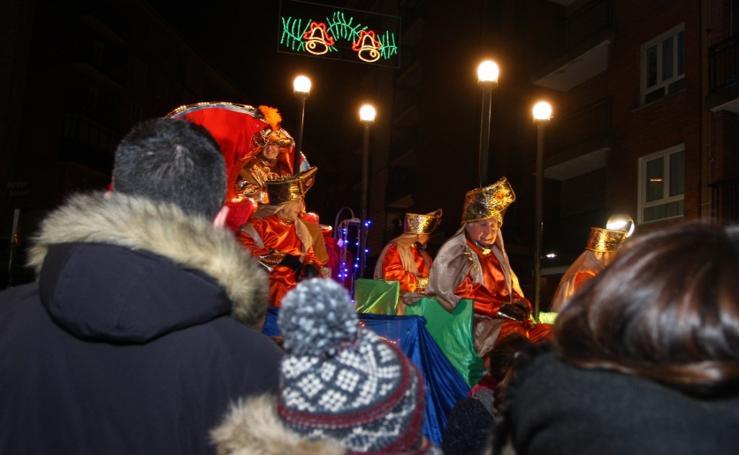 Los Reyes llegan a Lezo