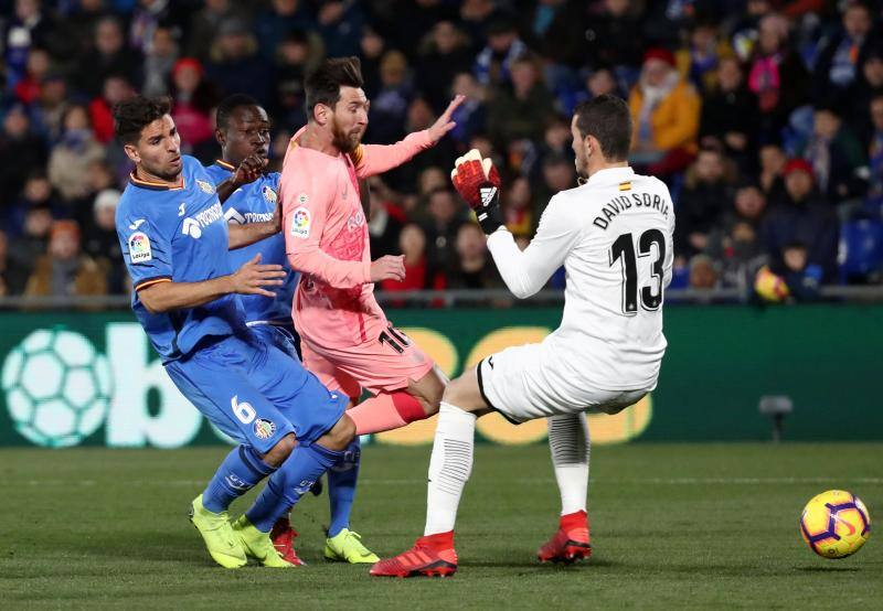 Las mejores imágenes del Getafe-Barça