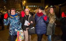 Manifestación en Pamplona contra la «provocación» por seguir libre 'La Manada'