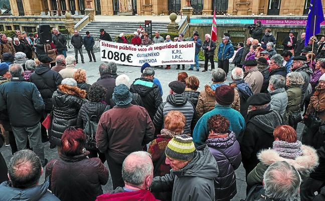 Los pensionistas vascos mantendrán el pulso ante la campaña electoral