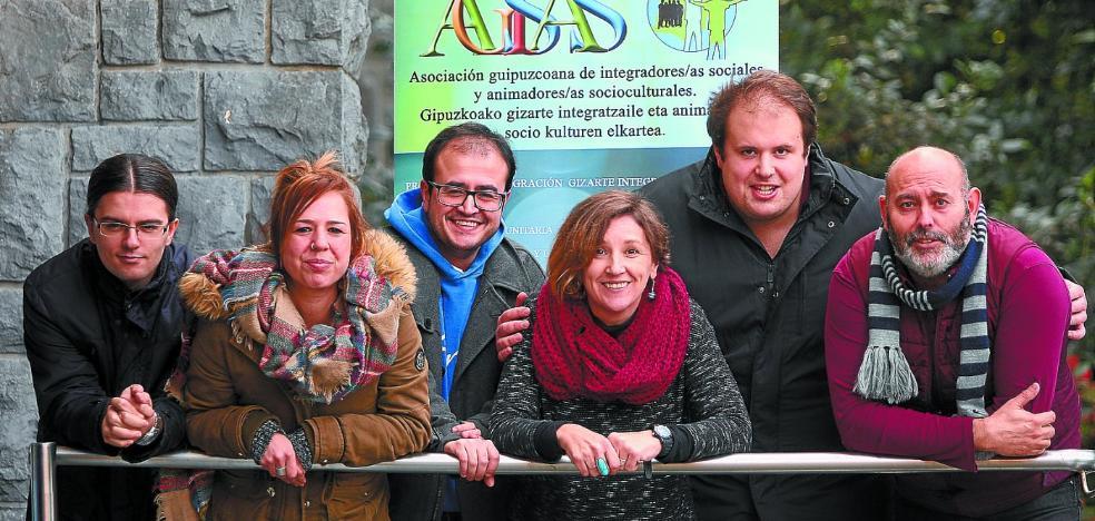 Los integradores sociales de Euskadi reivindican su sitio