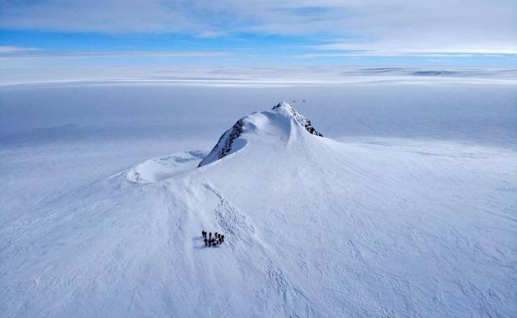 Reconocimiento en la Antártida
