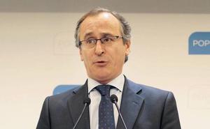 Alonso censura las demandas de Vox: «No tienen ni pies ni cabeza»