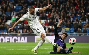 El Madrid encuentra un bálsamo en la Copa
