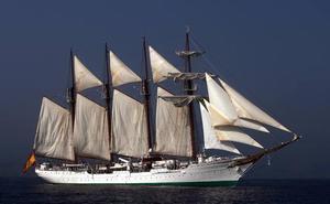 El 'Elcano' recalará en Getaria y Getxo el próximo julio