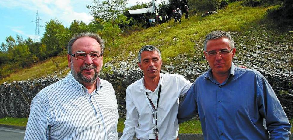 Deba, Irun y Oñati, otros escenarios de siniestros aéreos