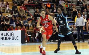 Lyndra Weaver podría llegar para el partido del domingo en Zaragoza