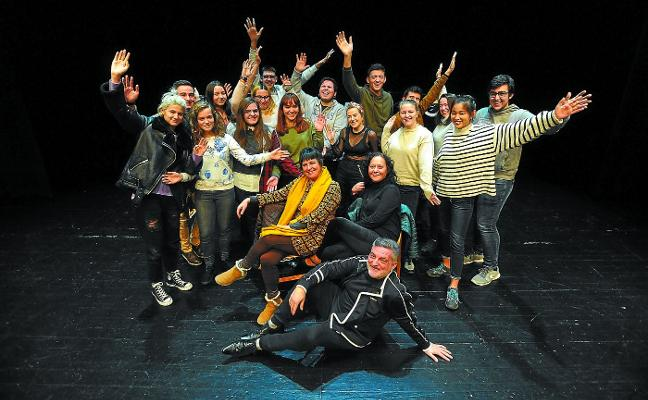 Teatreros con inyección musical
