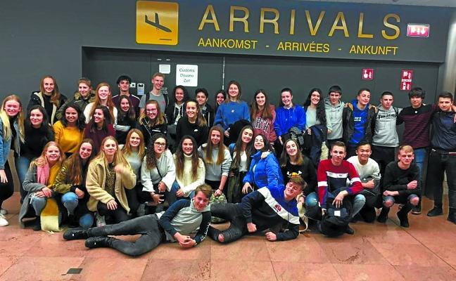 Los jóvenes pasaitarras estrechan lazos de amistad con los de Holanda