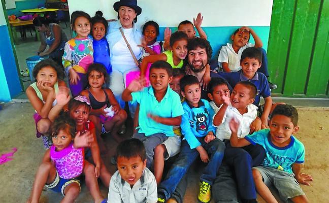 Amaia Arregui regresa de Honduras tras visitar los proyectos en marcha