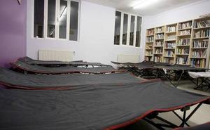 Un total de 37 personas pernoctan en el Servicio de Puertas Abiertas de San Sebastián
