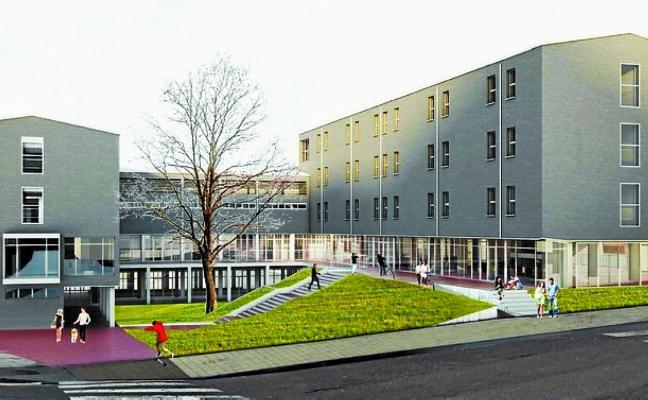 Un paso más hacia el centro para el barrio y los apartamentos para jóvenes