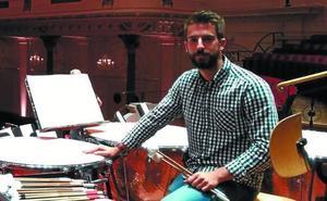 Jaime Atristain (Músico): «Intentaremos mostrar todas las facetas de la percusión en este concierto»
