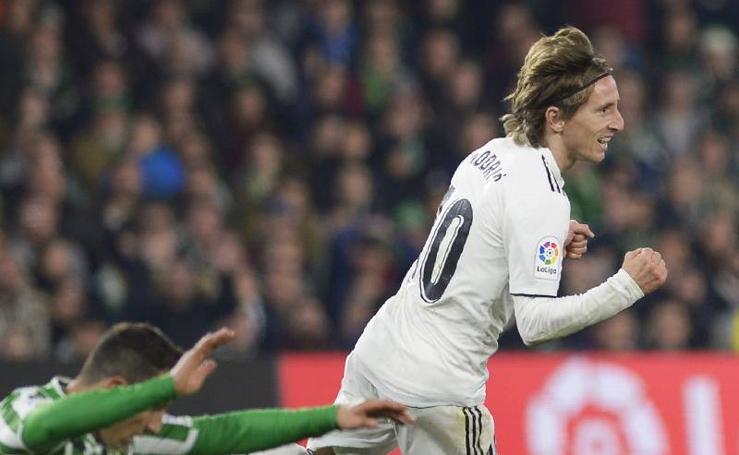 Las mejores imágenes del Betis-Real Madrid
