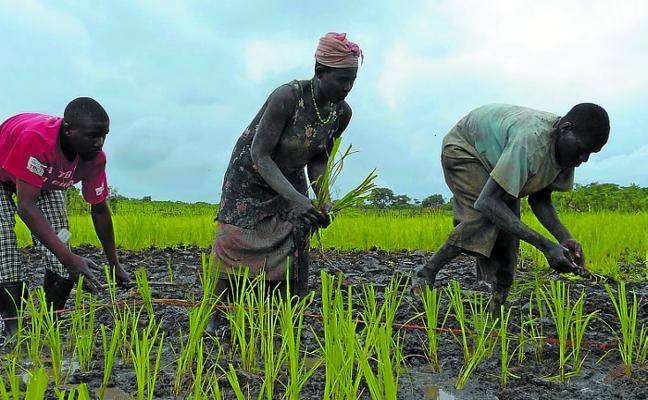 Charla de Beñat Arzadun sobre la cooperación a través de Mundukide en Mozambique