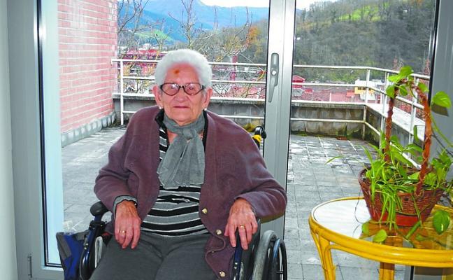 Goya Miguel, al club de las centenarias de Beasain