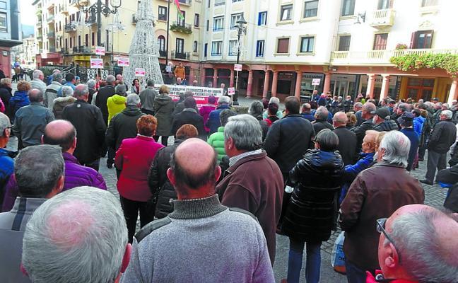 La Plataforma de Jubilados y Pensionistas reanuda sus concentraciones de los lunes