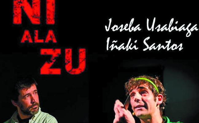 El centro cívico de Irurita acoge hoy a las 19.00 horas la obra de teatro 'Ni ala zu'