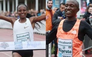 Kenia suma un excelente doblete en el Cross Juan Muguerza
