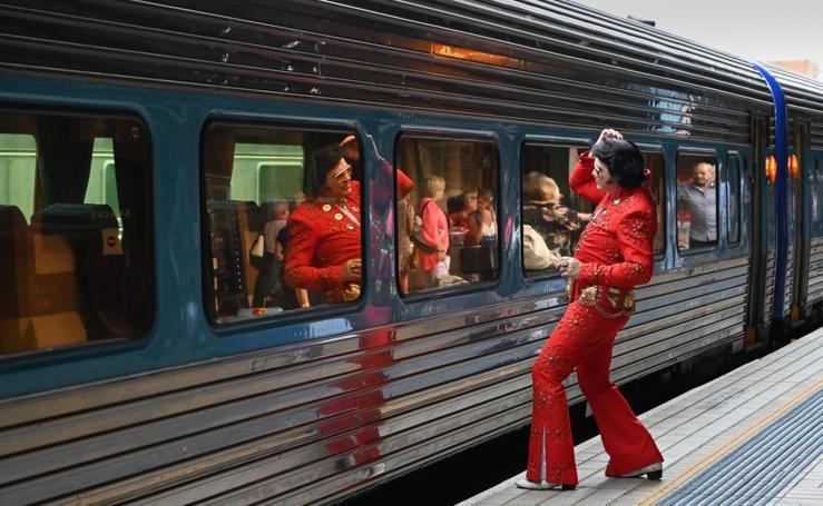 Elvis al tren