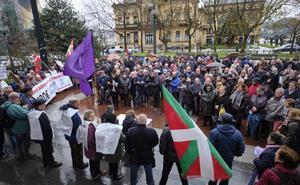 Los pensionistas vascos mantienen sus movilizaciones: «Esta lucha la vamos a ganar»