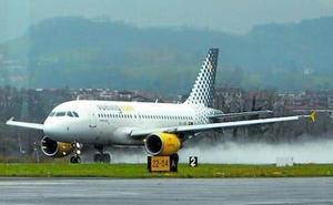 El aeropuerto de Hondarribia cierra 2018 con más pasajeros pero menos vuelos