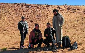 Ekain Albite, Saharako errefuxiatuen kanpalekuetan film laburra grabatzen