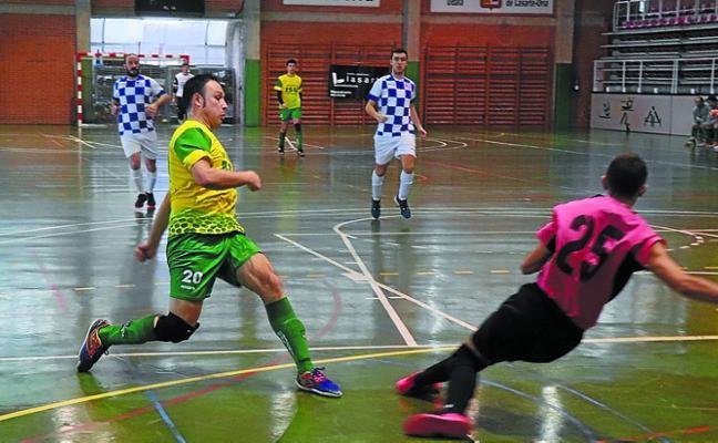 El Ventanas ISU Eguzki de Segunda provincial venció (7-3) al Goierri