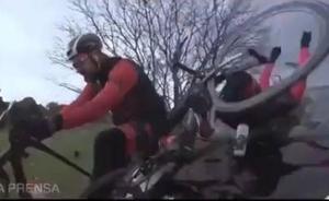 Impactante vídeo con el que Dani Rovira denuncia su atropello cuando viajaba en bici