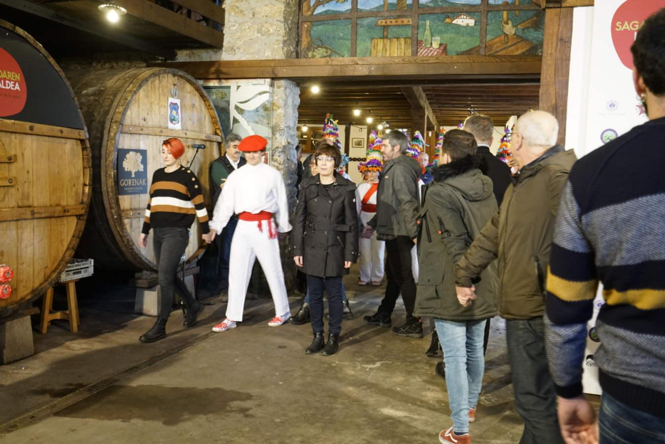 Arrieta abre la temporada de sidra en Astigarraga