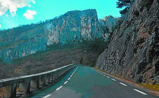 Las obras para la nueva carretera de Araotz arrancan el viernes