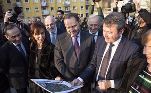 El proyecto de integración ferroviaria de Irun se va a llevar a cabo «de una vez por todas»