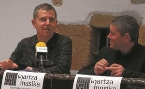 Danza y bertsos en Igartza Musika