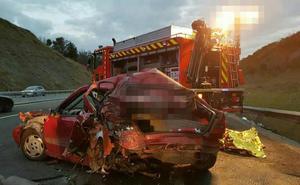 Fallece una persona en un accidente registrado en la AP-8, a la altura de Orio