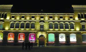 La fachada principal de San Telmo estrenará mañana iluminación nocturna