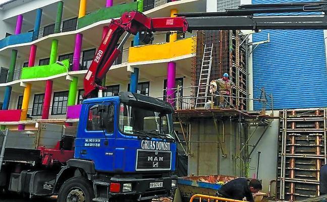 El gazteleku municipal de Donibane estrenará nuevas instalaciones