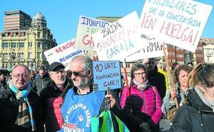 Miles de alumnos vascos afectados por la primera jornada de paro en los centros de iniciativa social