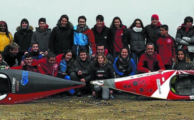 Ocho podios para Santiagotarrak en la Copa de Euskadi