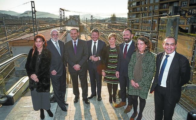 La estación intermodal de Irun que completará la regeneración urbana costará 30 millones