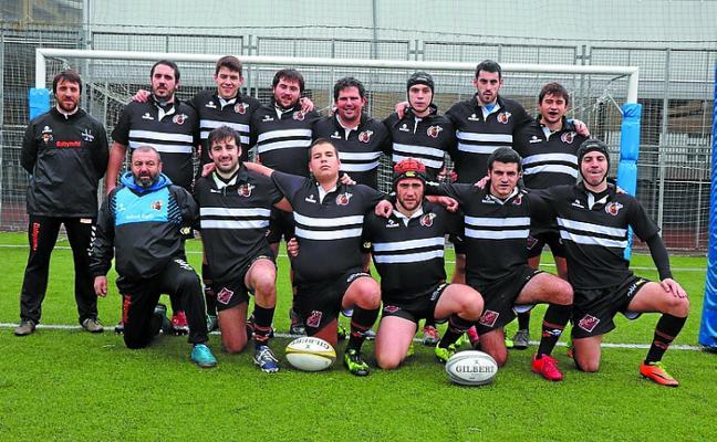 El Babyauto ZRT-Beltzak, de Euskal Liga de rugby, no pudo con el Universitario de Bilbao en Michelin